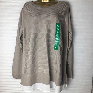 Hilary Radley ladies sweater XL